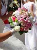 little wedding bouquet