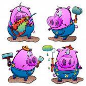 Piglet And Repair Tools