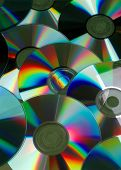 Compact Disk Still Life