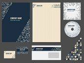 Corporate identity for company or event.