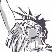 Liberty Statue Vektor