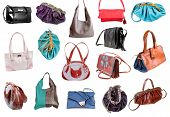Collection Of Ladies Bags