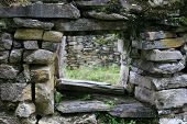 Kuelap Ruins Window