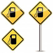 Gas Roadsign