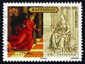 Postage Stamp Vatican 2005 The Annunciation, By Raphael