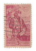 United States Stamp 700th Anniversary of Dante Alighieri