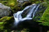 Cascades Mountain Waterfall