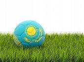 Football With Flag Of Kazakhstan