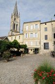 village of Saint-Emilion in Gironde