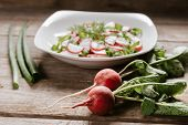 Vegetarian Radish Salad