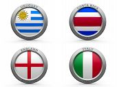 Brazil World Cup 2014 Group D