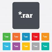 Archive file icon. Download RAR button.