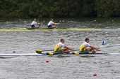 Meadlists In Men's Double Sculls, European Rowing Chamionships 2014