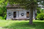 Russell Log Cabin, Saltville, Virginia, USA