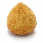 stock photo of brazilian food  - coxinha de frango - JPG