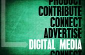 Digital Media Core Principles as a Concept