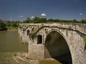 Byala Bridge Is An Arch Bridge Over The Yantra River In Northern Bulgaria