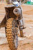 Dirt Wheel Motorbike
