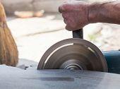 Cutting Stone Grinder