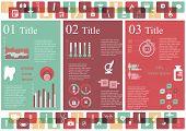 Medicine infographics