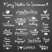 summer letterings