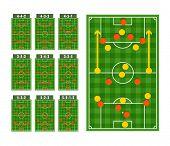 Main football strategy schemes