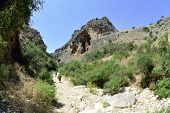 Amud Gorge In Galilee, Israel