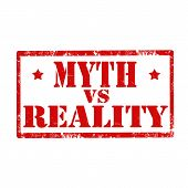 Myth Vs Reality-stamp