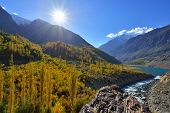 Autumn at Ghizer Valley.