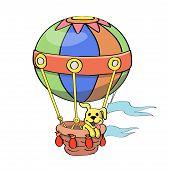 Cartoon Balloon vector