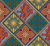 Baroque Royal Tile Pattern