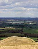 Dragon Hill near White Horse Hill
