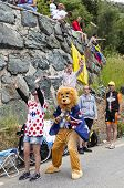 Funny Supporters Of Le Tour De France