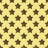 Chocolate Cookies Seamless  Pattern