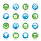 Vector Business and Office internet Icons