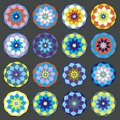 Colored Shapes Set
