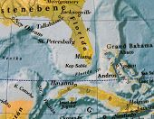 Map Of Florida And Kuba