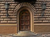 antique ornate door