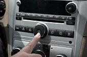 Car Stereo Power Button