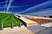 Parliament House Lawned Roof