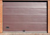 Roll Up Automatic Garage Gate
