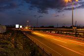 Night Traffic In Bangalore