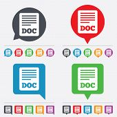 File document icon. Download doc button.