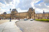 Paris. Louvre Art Gallery