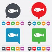 foto of fish icon  - Fish sign icon - JPG