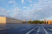 Petersburg. Palace Square.