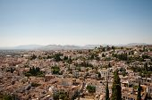 Aerial view of Granada