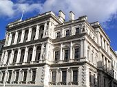 Her Majesty's Treasury in London's Whitehall