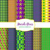 picture of brazilian carnival  - Mardi Gras carnival patterns collection - JPG