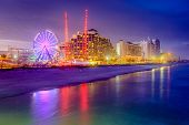 image of beachfront  - Daytona Beach - JPG